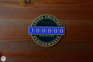 300K High Mileage Badge Sticker - Cross Country Performance