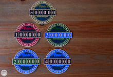100K High Mileage Badge Sticker - Cross Country Performance