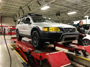 "XC70 2"" Lift Kit (P2 Chassis) - Cross Country Performance"