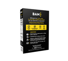 Load image into Gallery viewer, BAM Snacks Black Gram Pasta - Rotini (Pack of 6)