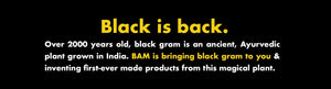 BAM Snacks Black Gram Pasta - Rotini (Pack of 4)