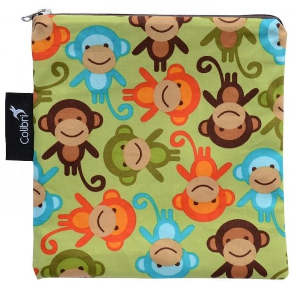 Monkeys | Reusable Snack Bag - Large
