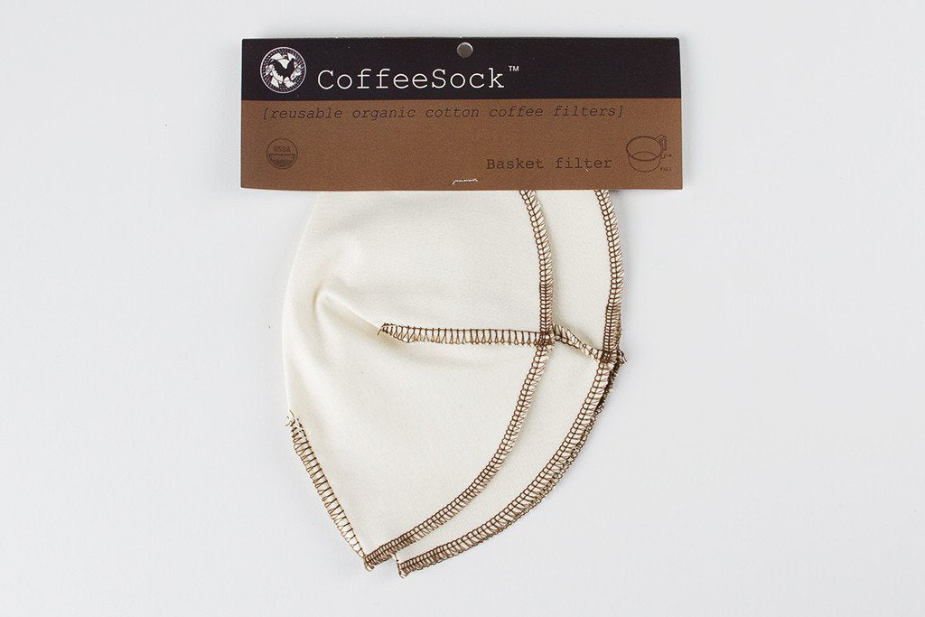 Basket Filters CoffeeSock | Pack of 2