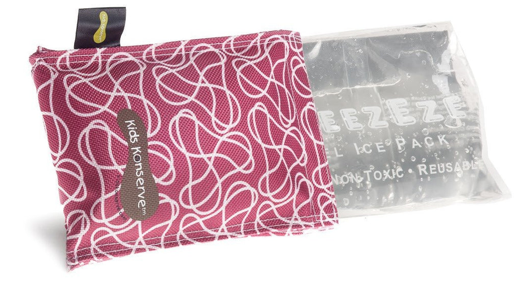 Magenta Ice Pack & Sweat-Free Cover
