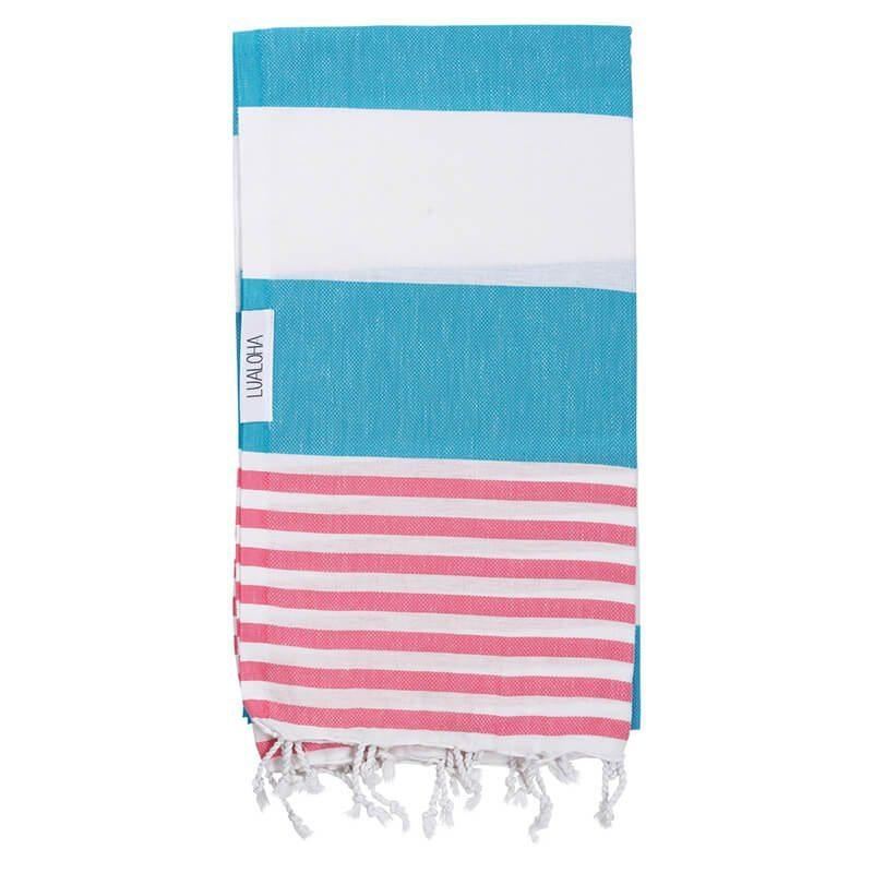 Striped Goodness | Blue & Pink