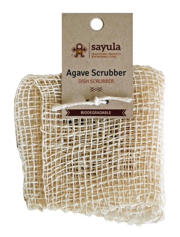 Agave Dish Scrubber