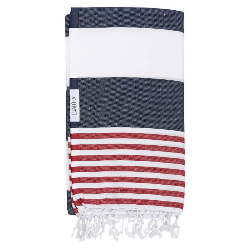 Striped Goodness | Navy & Red