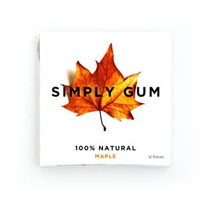 Maple Natural Chewing Gum