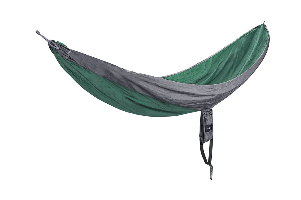 Hiking Ripstop Hammock | Green & Grey