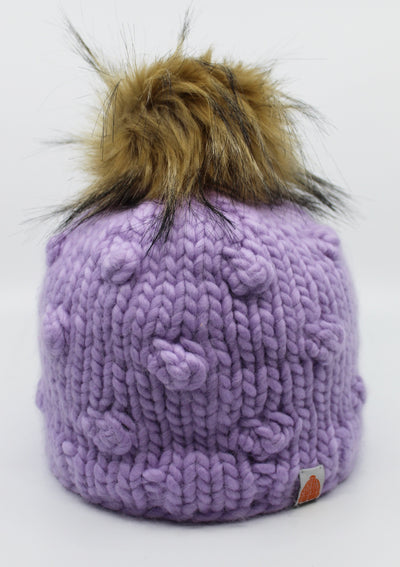 Sh*t That I Knit Campbell Beanie in Lavender - Whim BTQ