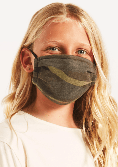 Z Supply KIDS CAMO REUSABLE FACE MASK (2-PACK) - Whim BTQ