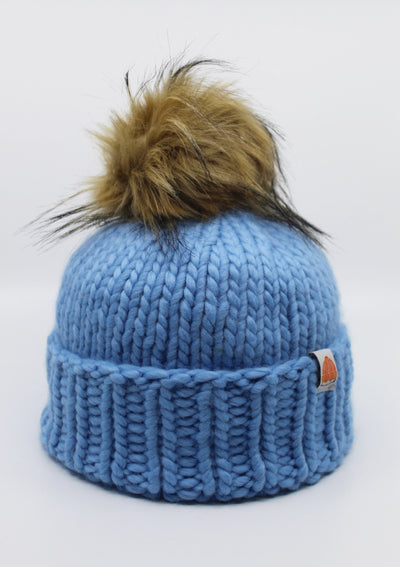 Sh*t That I Knit Rutherford Beanie in Sky