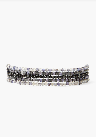Chan Luu 5 Wrap Bracelet in BLACK MIX - Whim BTQ