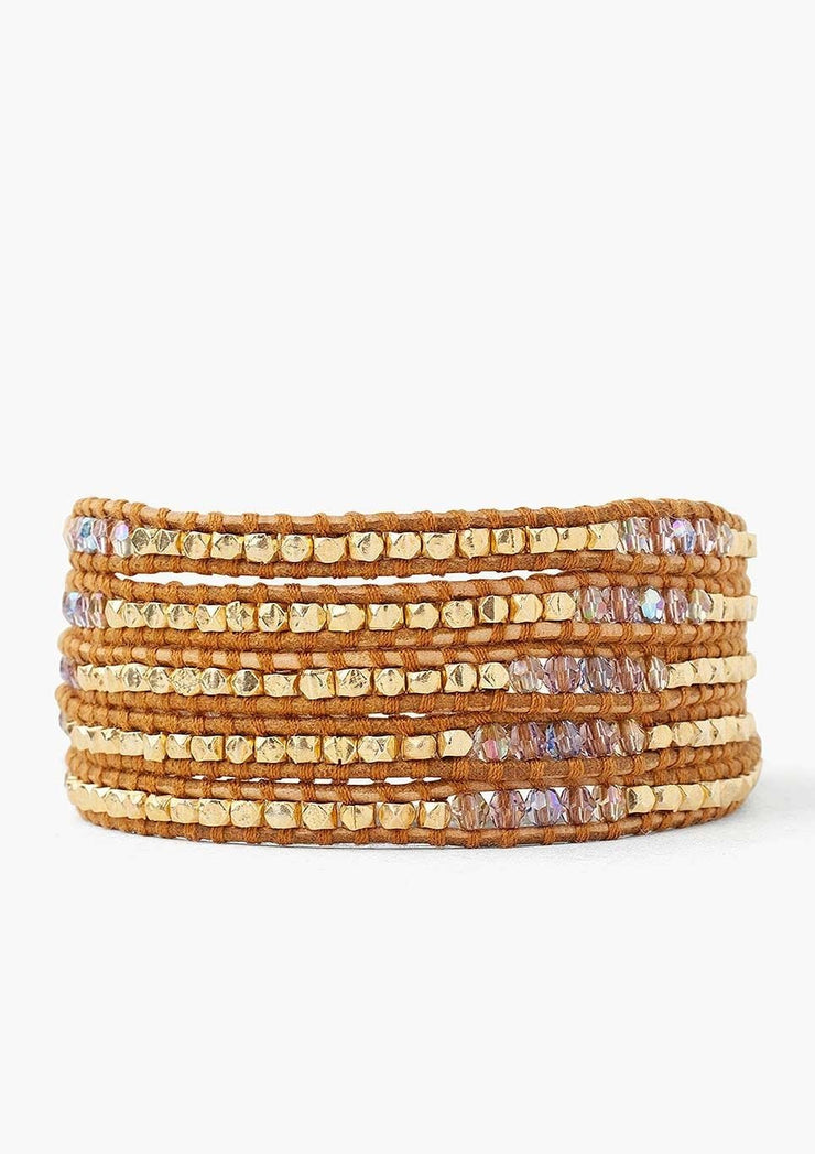 Chan Luu Light Amethyst Mix Wrap Bracelet - Whim BTQ