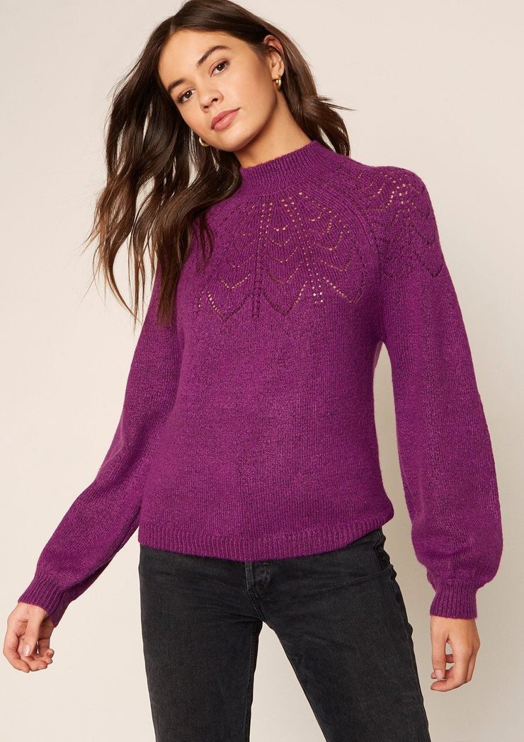 BB Dakota WORLD WIDE WEB sweater - Whim BTQ