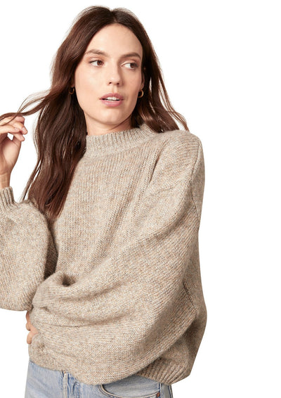 BB Dakota TRIED TO WARM YOU SWEATER in Heather Grey - Whim BTQ