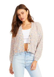 BB Dakota Golden Hour Cardigan in Multi - Whim BTQ