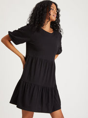 Sanctuary All Day Dress in Black - Whim BTQ