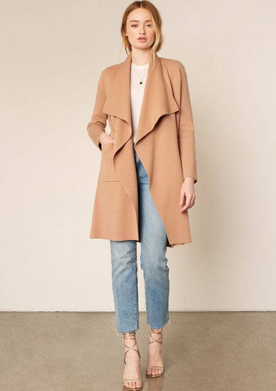 Cupcakes & Cashmere Teyana Jacket in Camel - Whim BTQ