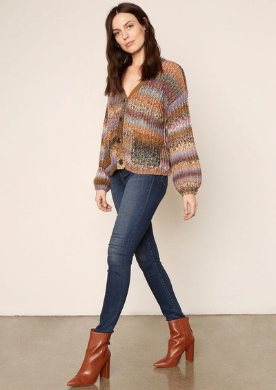 Cupcakes & Cashmere Helena Sweater in Multi - Whim BTQ
