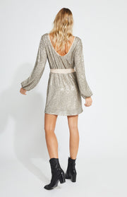 Gentle Fawn JULIETTE DRESS Platinum Grey - Whim BTQ