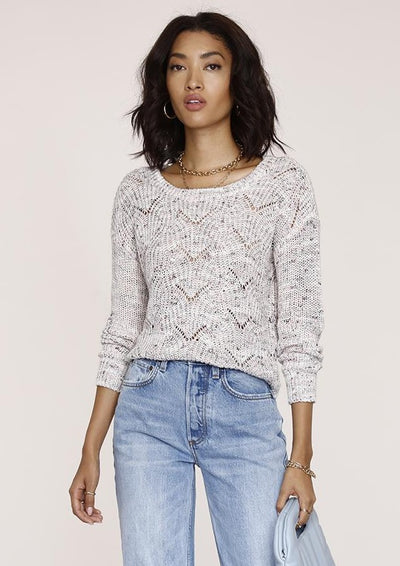 Heartloom Shara Sweater in Orchid - Whim BTQ