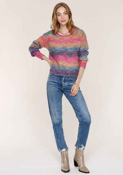Heartloom Maeve Sweater in Jewel - Whim BTQ