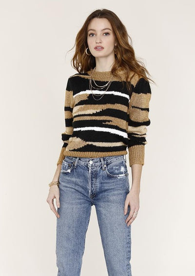 Heartloom Bette Sweater in Tan - Whim BTQ