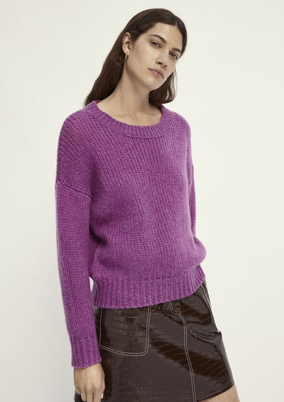 Scotch & Soda Soft Knitted Pullover in Purple - Whim BTQ