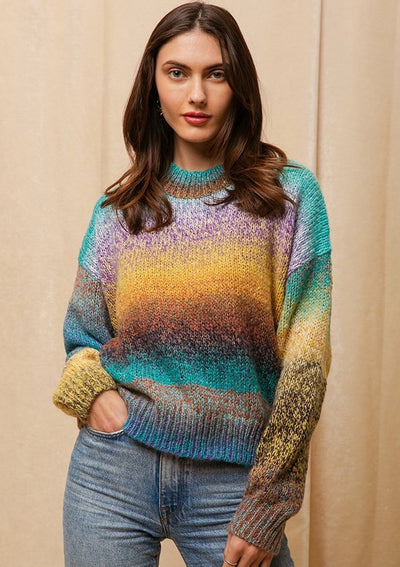 Raga Mason Pullover Sweater in Multi - Whim BTQ