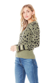 MILES SWEATER in Willow - Whim BTQ