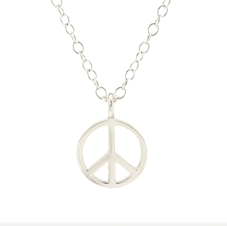 Kris Nations Peace Sign Charm Necklace - Whim BTQ
