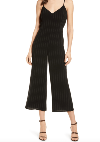 Cupcakes and Cashmere Lana Stripe Sleeveless Jumpsuit - Whim BTQ