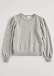 Z Supply Girls ZOE SWEATSHIRT in Grey - Whim BTQ