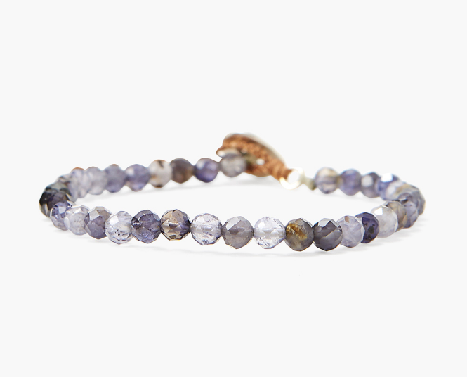 Chan Luu single wrap bracelet in IOLITE - Whim BTQ