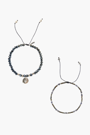 Chan Luu Bracelet Set in MIDNIGHT Mix - Whim BTQ