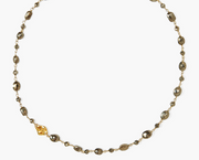 Chan Luu Wire Wrapped Necklace in PYRITE - Whim BTQ