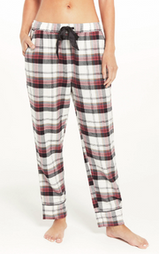 Z Supply Dream State Plaid Set in Vanilla Ice - Whim BTQ