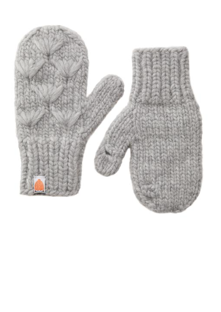 Sh*t That I Knit Motley Mittens in Heather - Whim BTQ