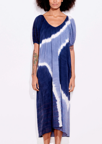 Sundry Bubble Sleeve Maxi Dress - Whim BTQ