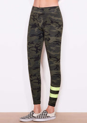 Sundry Camo Stripes Yoga Pants - Whim BTQ