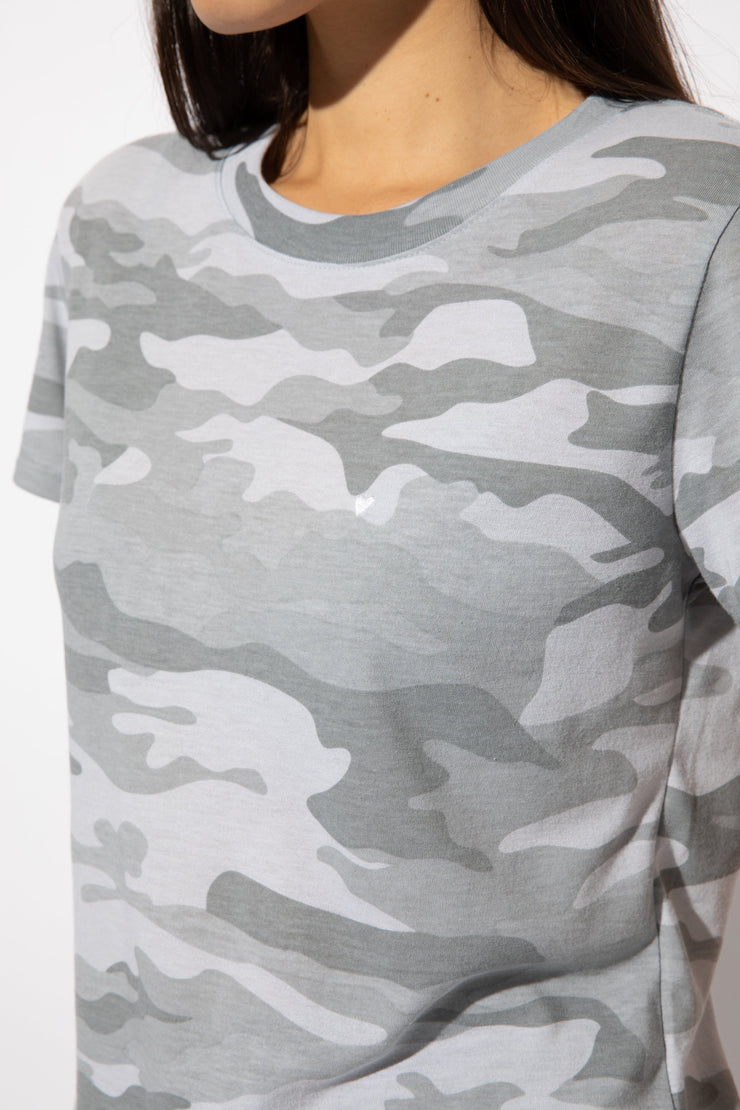 Sub_Urban Riot Camo Heart Embroidered Tee - Whim BTQ