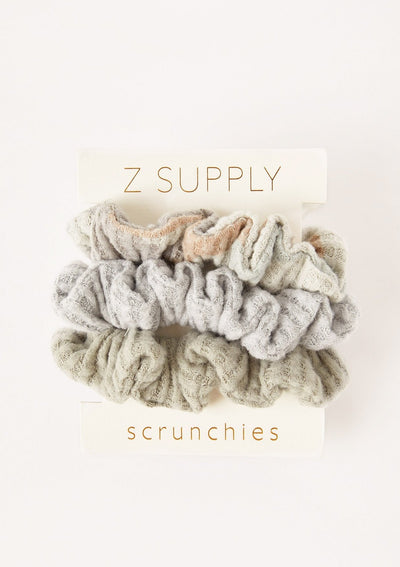 Z Supply CAMO SCRUNCHIES (3-PACK) - Whim BTQ