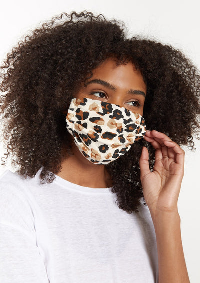 Z Supply ANIMAL INSTINCTS REUSABLE FACE MASK (4-PACK) - Whim BTQ