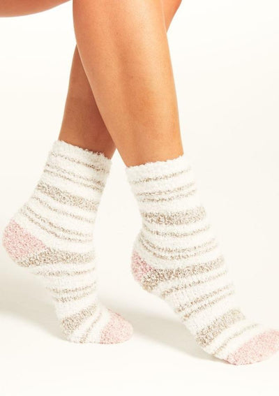 Z Supply Stripe Plush Socks - Whim BTQ