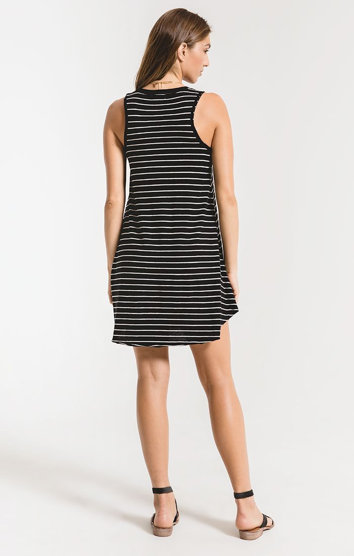 Z SUPPLY YUMA STRIPE LINEN BREEZY DRESS - Whim BTQ
