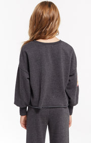 Z Supply GIRLS KIRA BOLT PULLOVER - Whim BTQ