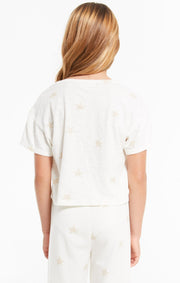 Z Supply Girls Nattie Star Tee - Whim BTQ