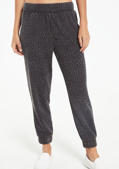 Z Supply CADENCE STARDUST JOGGER in Charcoal - Whim BTQ