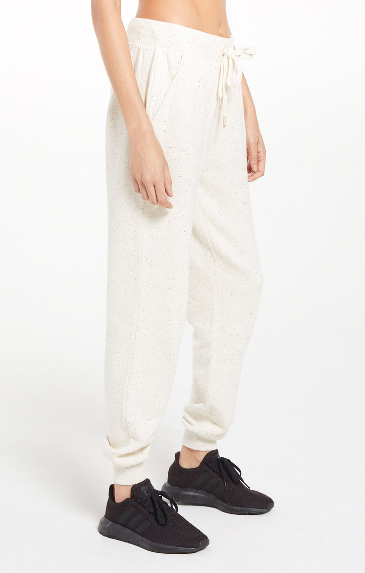 Z Supply Ambre Speckled Pant in Natural - Whim BTQ